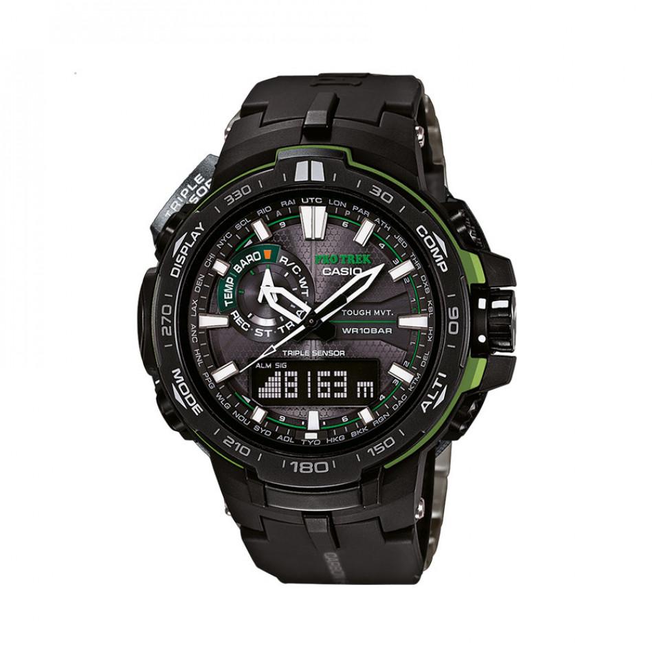 Ανδρικό ρολόι CASIO Pro Trek PRW-6000Y-1AER PRW6000Y1AER
