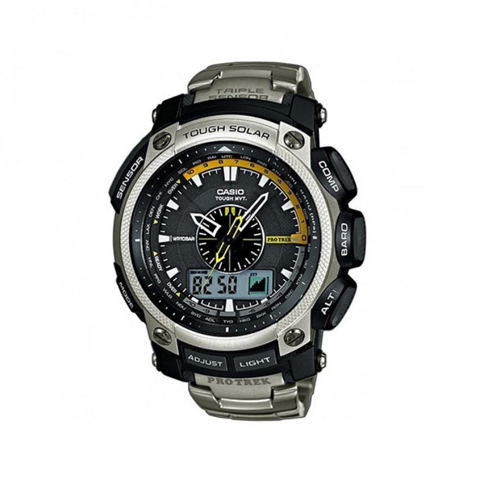 Ανδρικό ρολόι CASIO pro trek prw-5000t-7er PRW5000T7ER