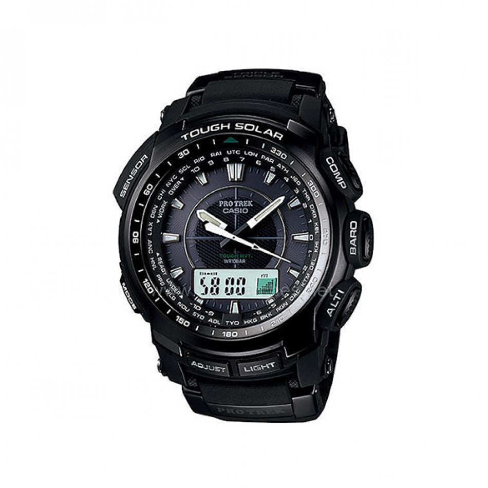 Ανδρικό ρολόι CASIO Pro Trek PRW-5100-1ER PRW51001ER