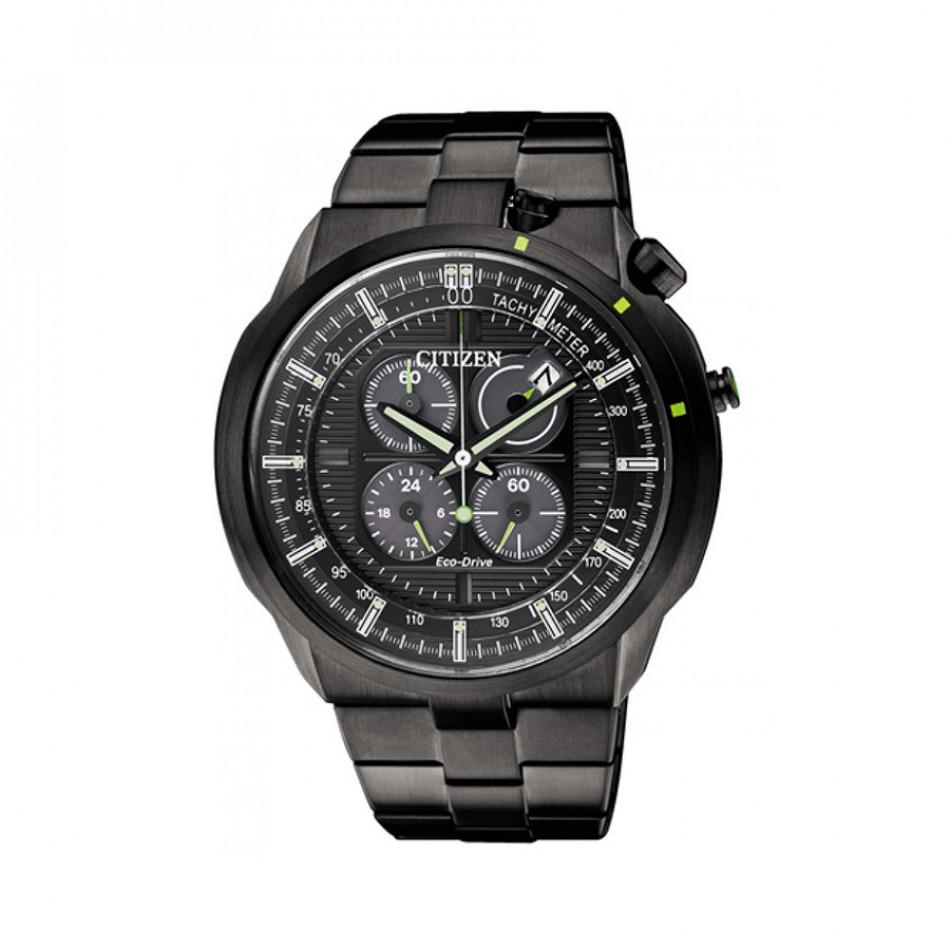 Ανδρικό ρολόι Citizen Eco-Drive Bullhead Chronograph CA0485-52E CA0485 52E/Cal. B612