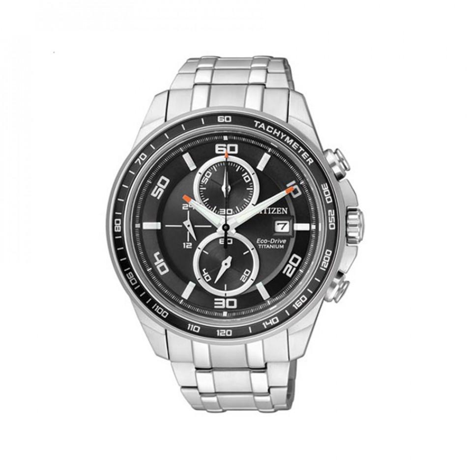 Ανδρικό ρολόι Citizen Eco-Drive Super Titanium CA0340-55E CA0340-55E