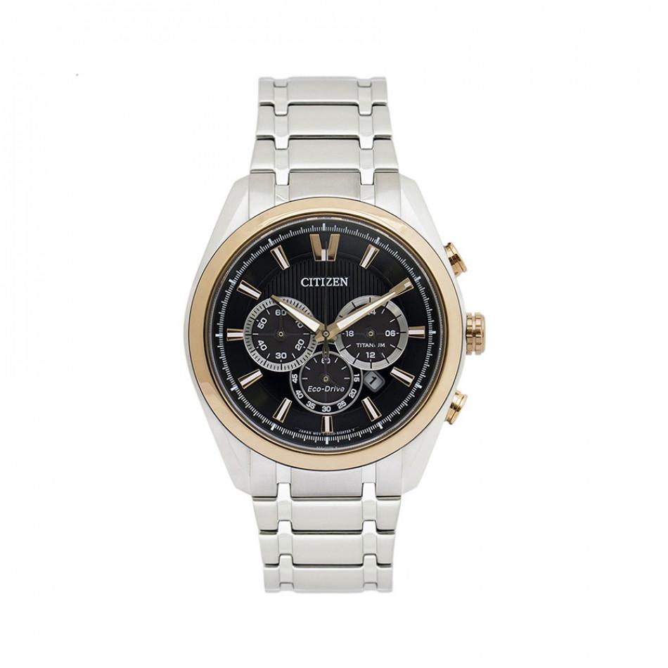 Ανδρικό ρολόι Citizen Eco-Drive Titanium Super Titanium Chronograph CA4014-57E CA4014 57E/cal B620