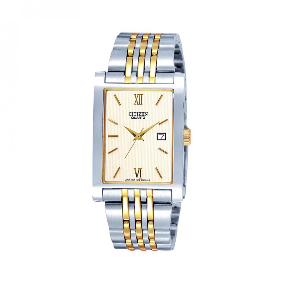 Ανδρικό ρολόι Citizen Quartz Gold Dial Two-Tone Quatz BH1378-50A  BH1378 50A