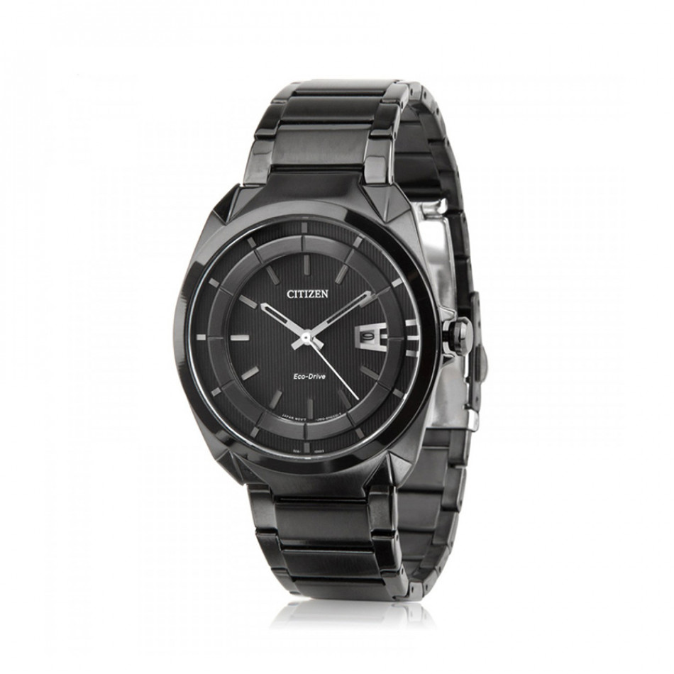 Ανδρικό ρολόι Citizen Eco-Drive Analog Black Dial  AW1015 53E