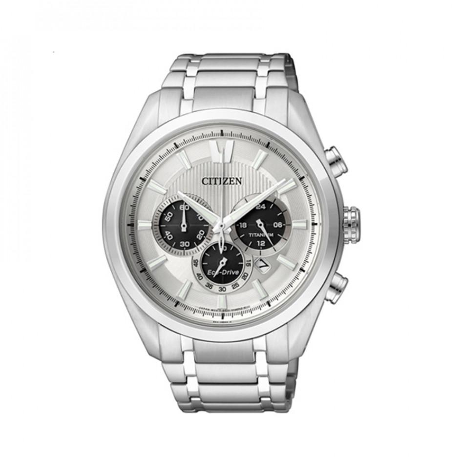 Ανδρικό ρολόι Citizen Eco-Drive Titanium Chronograph  CA4010 58A