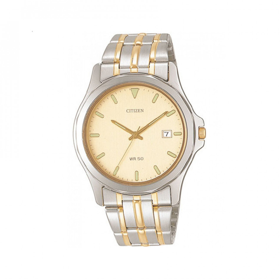 Ανδρικό ρολόι Citizen Two-Tone Gold Dial  BI0740 96P
