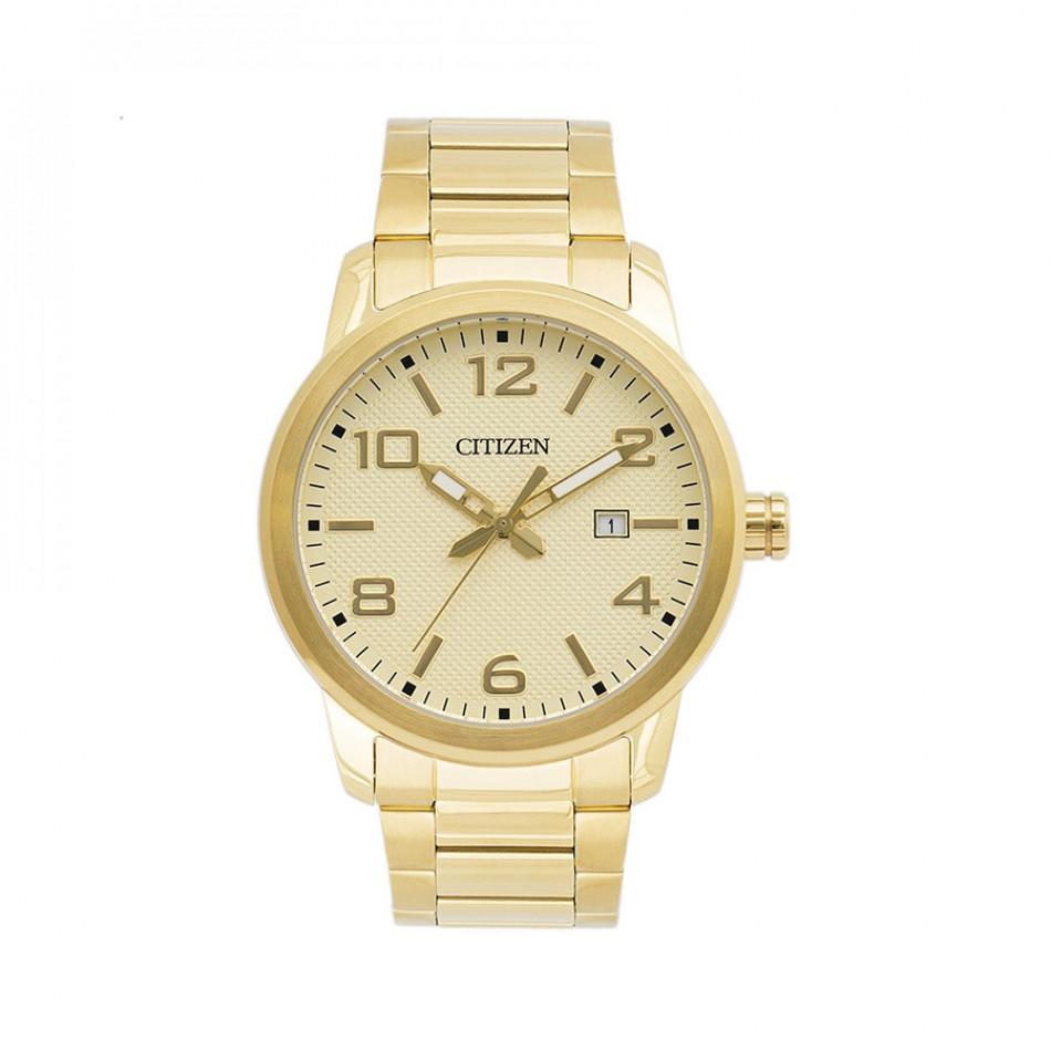 Ανδρικό ρολόι Citizen Gold Tone BI1022-51P BI1022 51P