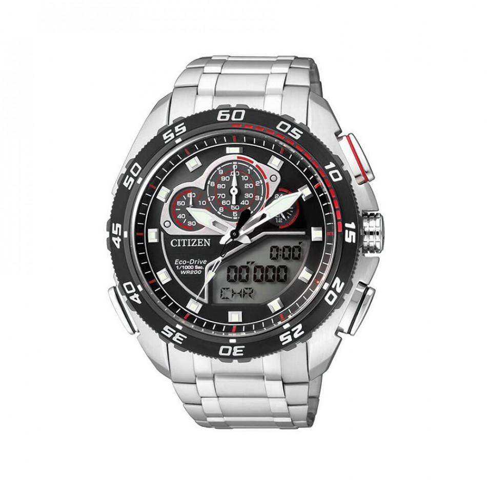 Ανδρικό ρολόι Citizen ECO-DRIVE PROMASTER CHRONOGRAPH JW0124 53E JW0124 53E
