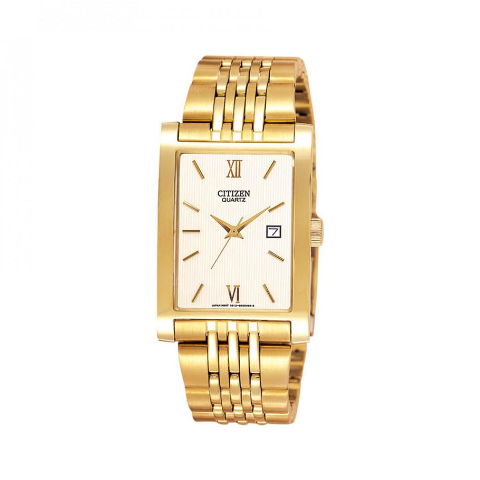 Ανδρικό ρολόι Citizen Quartz Gold Tone Elegant BH1372-56A BH1372 56A/Cal. 1012
