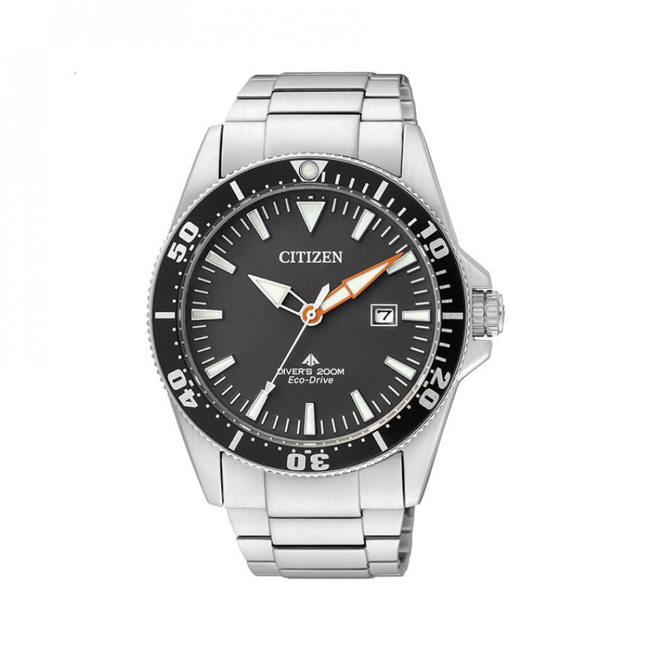 Ανδρικό ρολόι Citizen Eco-Drive Promaster Diver BN0100-51E BN0100 51E/Cal. E168