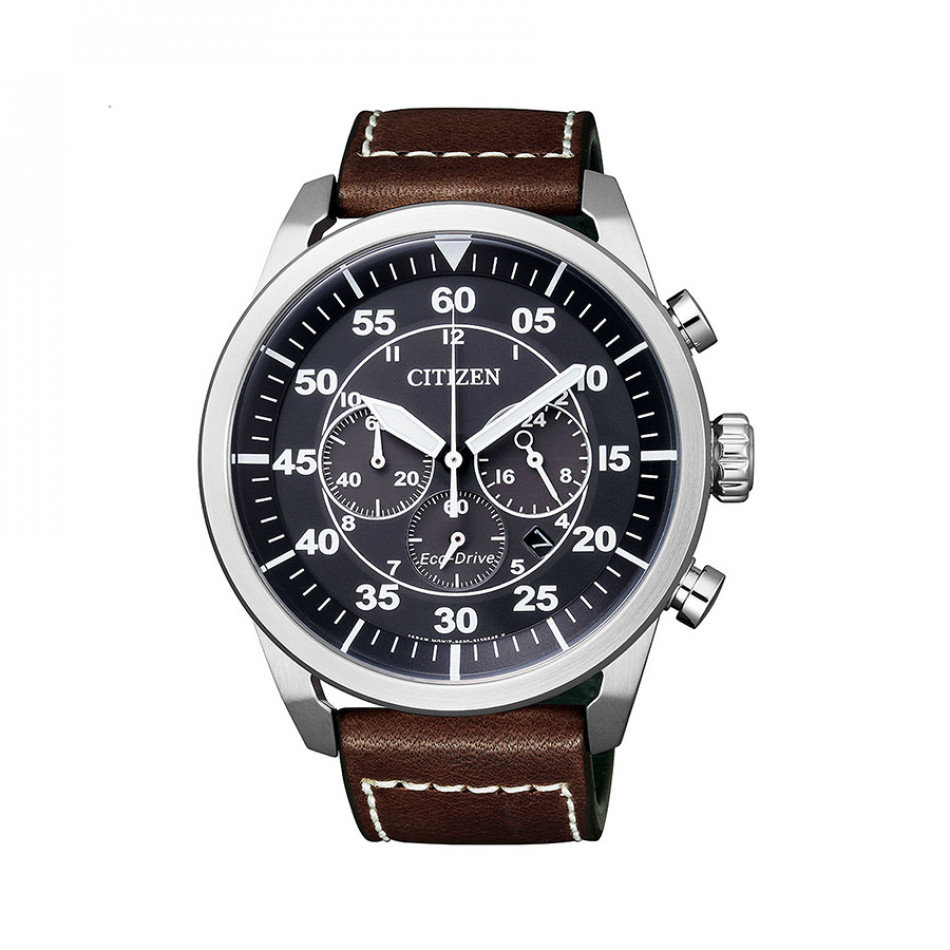 Ανδρικό ρολόι Citizen Men's Eco-Drive Aviator Chronograph  CA4210 16E