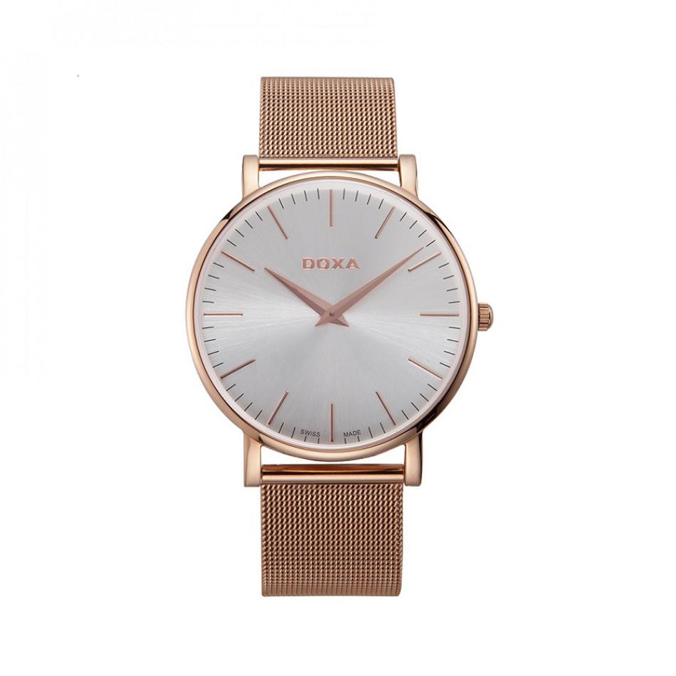Ανδρικό ρολόι Doxa D-Light Rose Gold Plated Men's Quartz Watch 1739002117