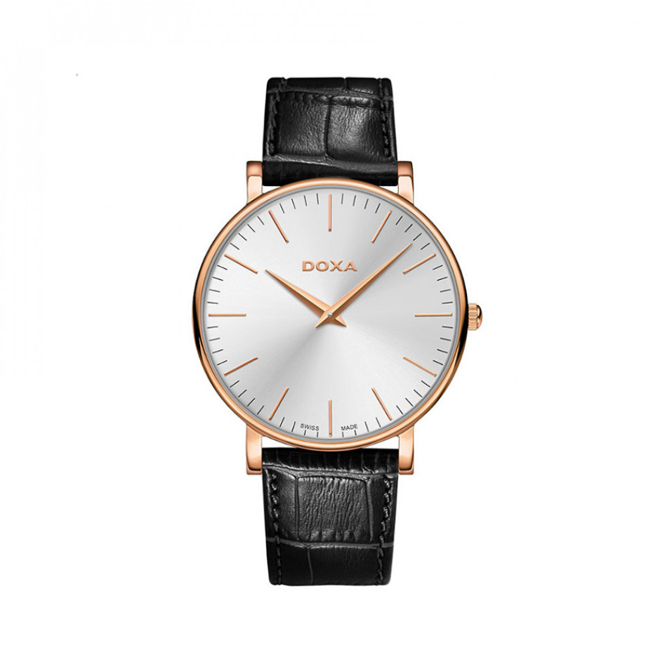 Ανδρικό ρολόι Doxa D-Light Pink Gold Toned Quartz  1739002101