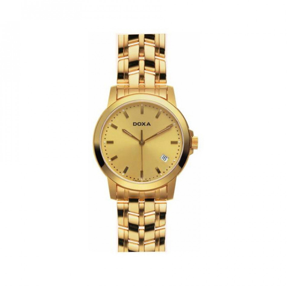 Ανδρικό ρολόι Doxa Classic Vintage California Yellow Gold 2003030111 2003030111