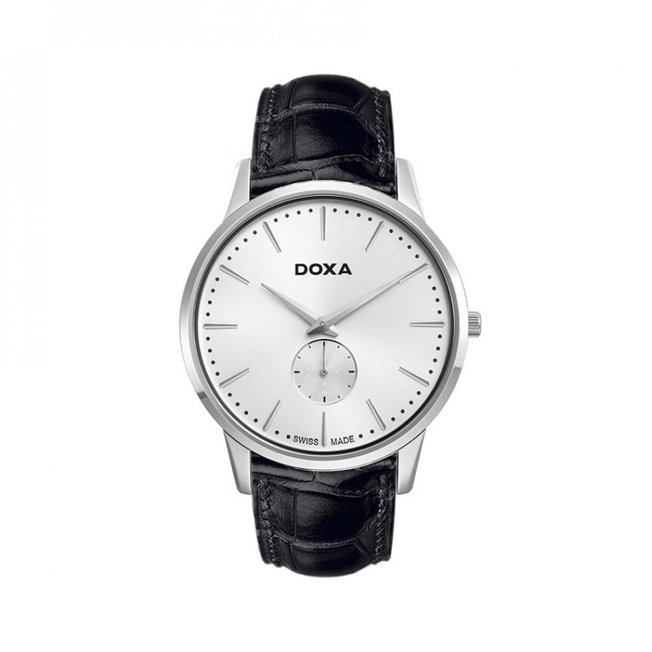 Ανδρικό ρολόι Doxa Classic Slim Line 1 Gent Silver Dial  1051002101