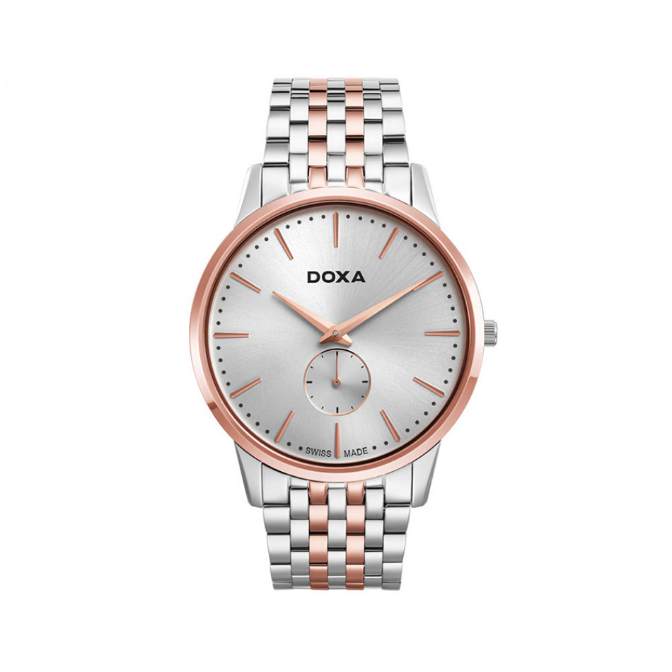 Ανδρικό ρολόι Doxa Slim Line 1 Gent Rose Gold 1056002160 1056002160