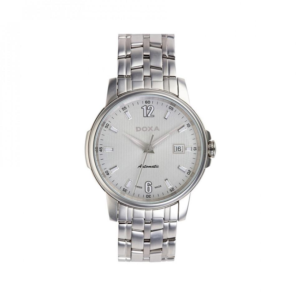 Ανδρικό ρολόι Doxa Ethno Silver Dial Automatic  2051002310