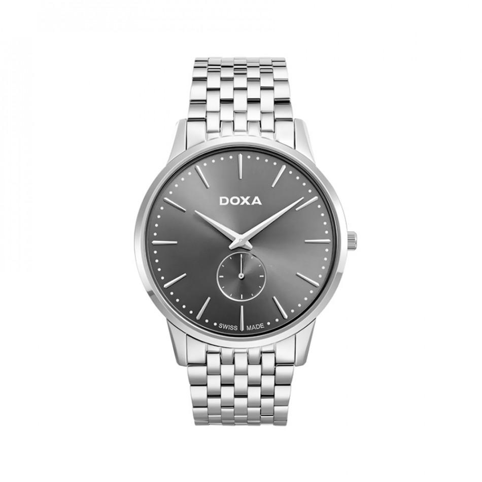 Ανδρικό ρολόι Doxa Classic Slim Line 1 Gent 1051010110 1051010110