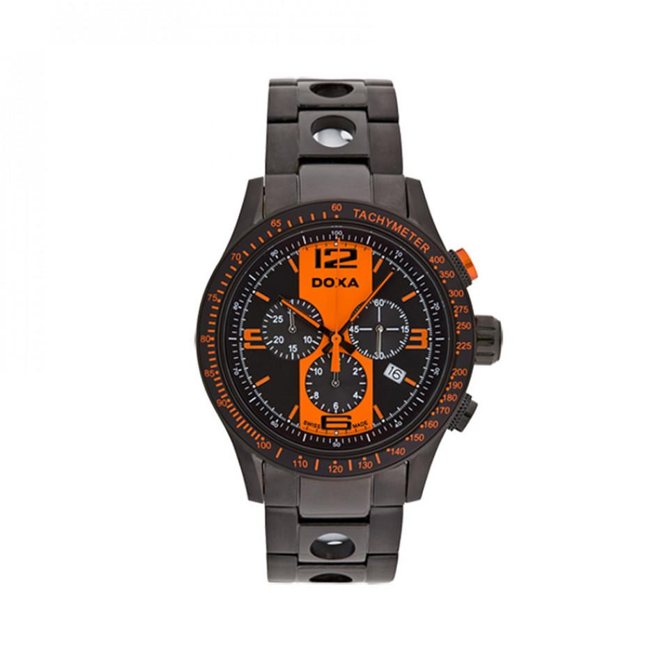 Ανδρικό ρολόι Doxa Trofeo Quartz Chronograph  2857034315