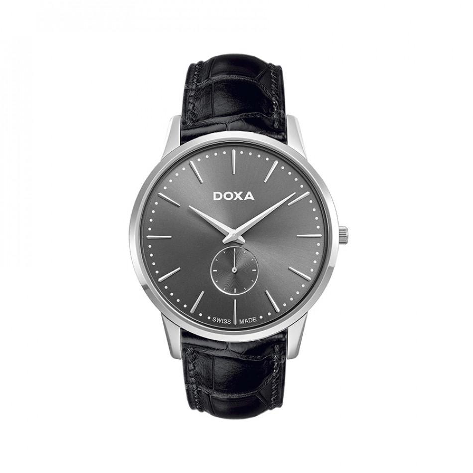 Ανδρικό ρολόι Doxa Classic Slim Line 1 Gent 1051010101 1051010101