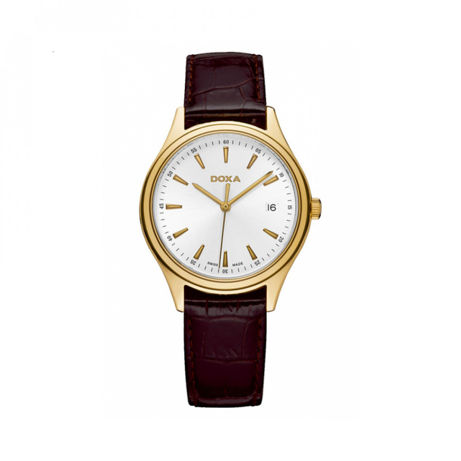 Ανδρικό ρολόι Doxa Classic New Tradition Ladies Yellow Gold 2113002102 2113002102