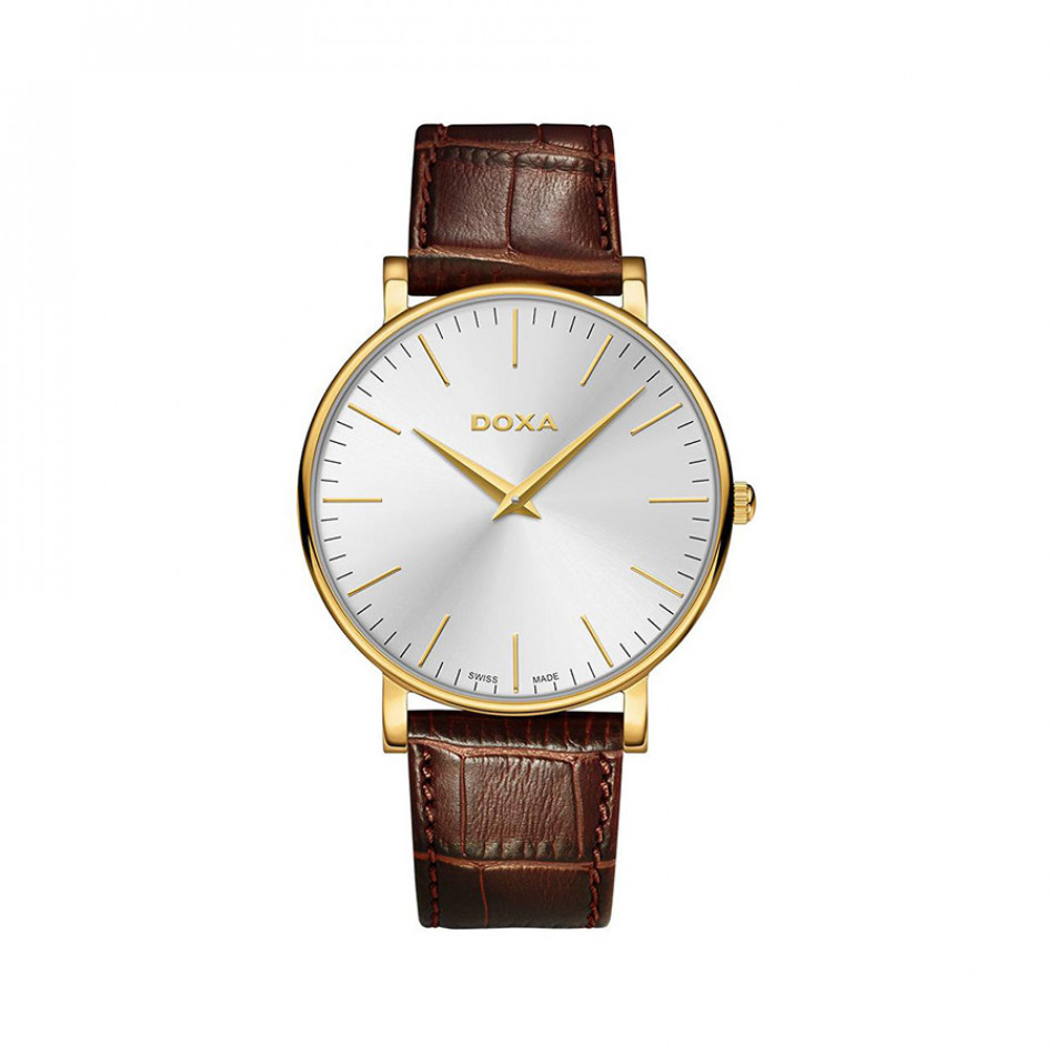 Ανδρικό ρολόι Doxa D-light Gold Toned Silver Dial  1733002102