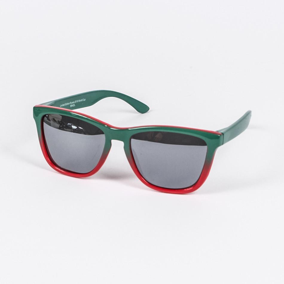 Ανδρικά πράσινα γυαλιά ηλίου FM il210720-12