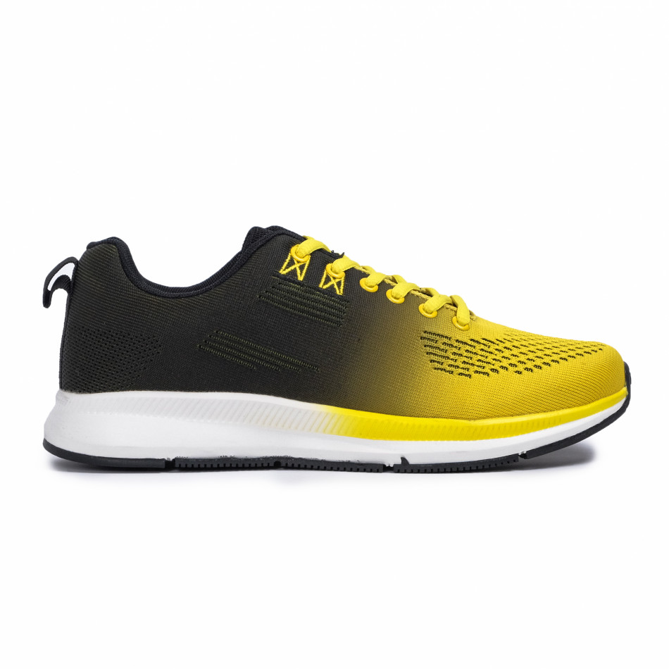 Ανδρικά κίτρινα αθλητικά παπούτσια Kiss GoGo it260620-6