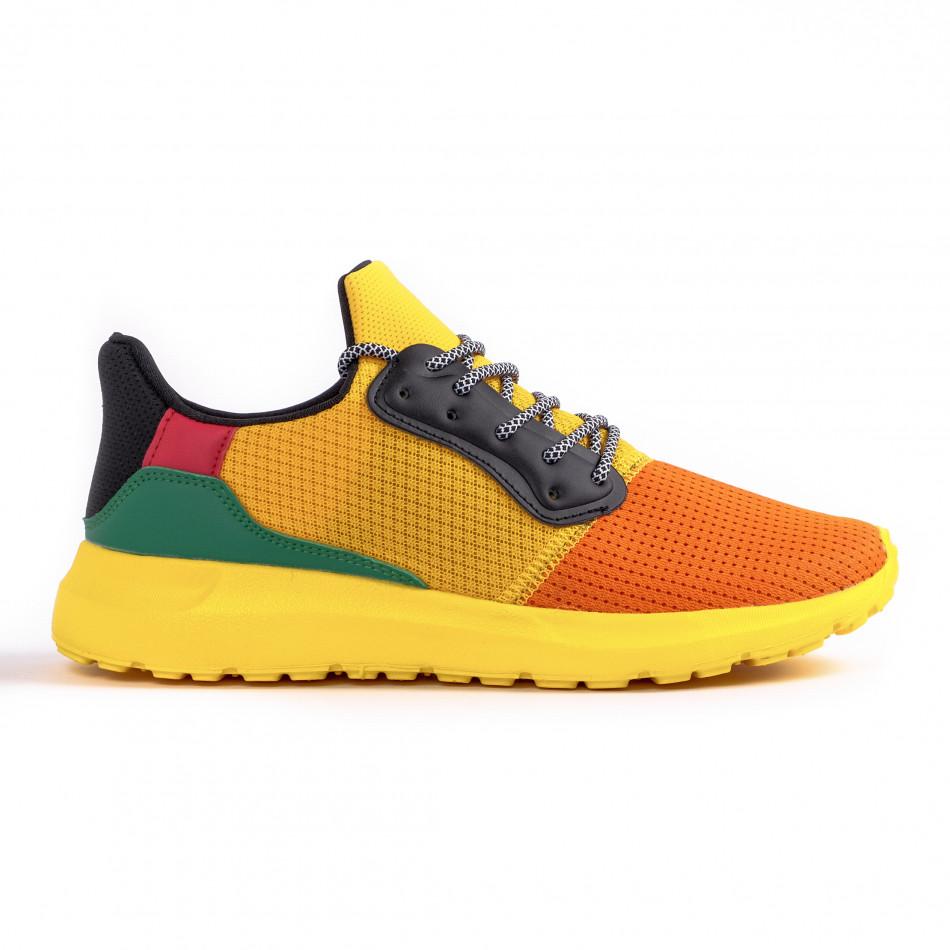 Ανδρικά πολύχρωμα αθλητικά παπούτσια Kiss GoGo it260520-5
