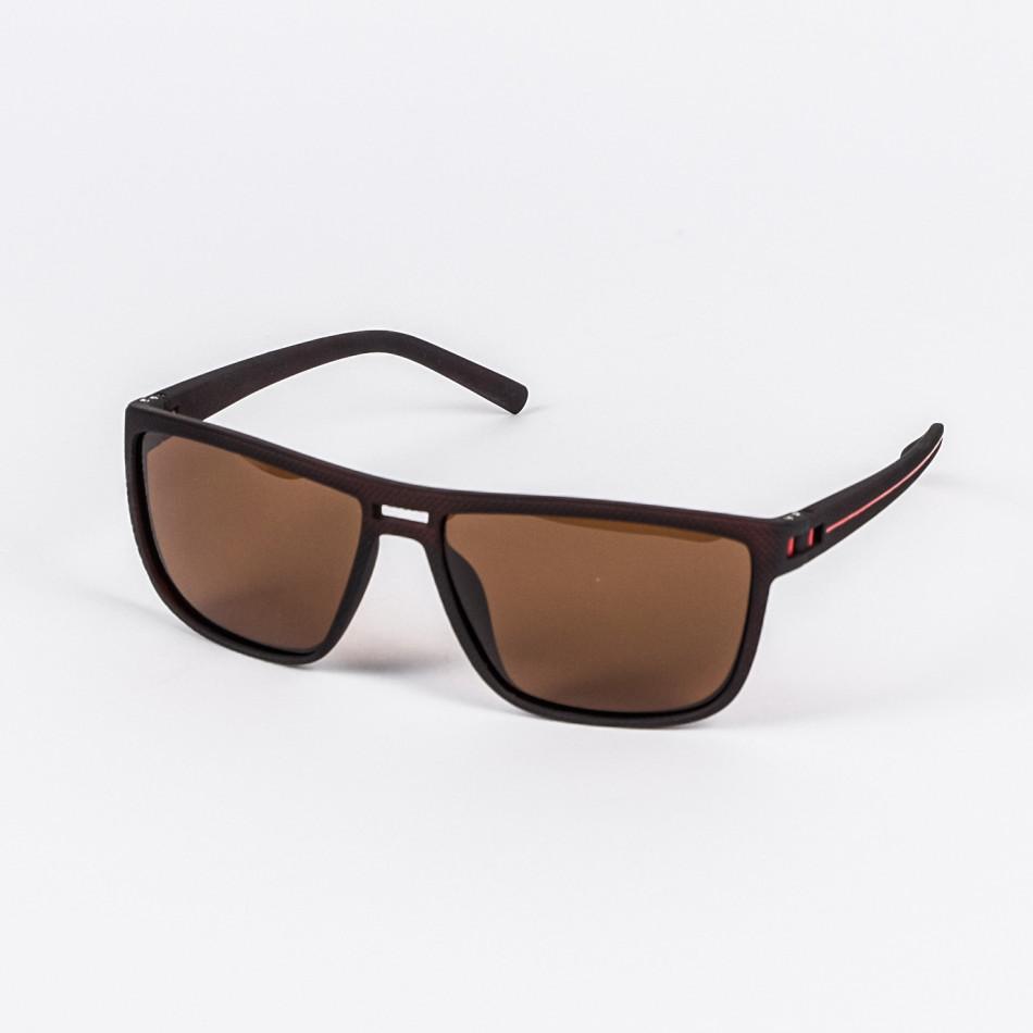 Ανδρικά καφέ γυαλιά ηλίου Aedoll il200720-9
