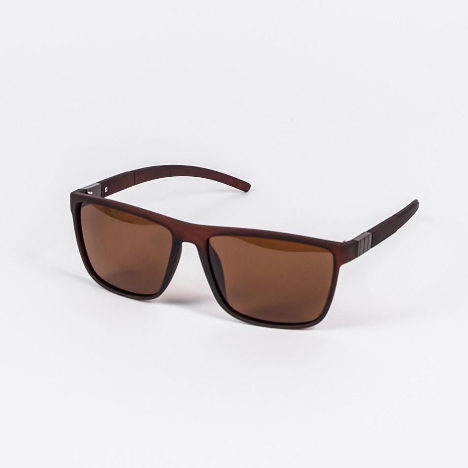 Ανδρικά καφέ γυαλιά ηλίου Aedoll il200720-4