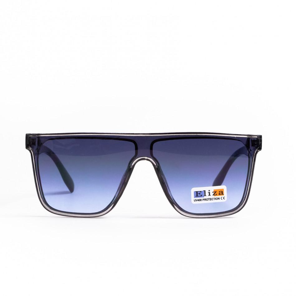 Ανδρικά γαλάζια γυαλιά ηλίου μάσκα il200521-15