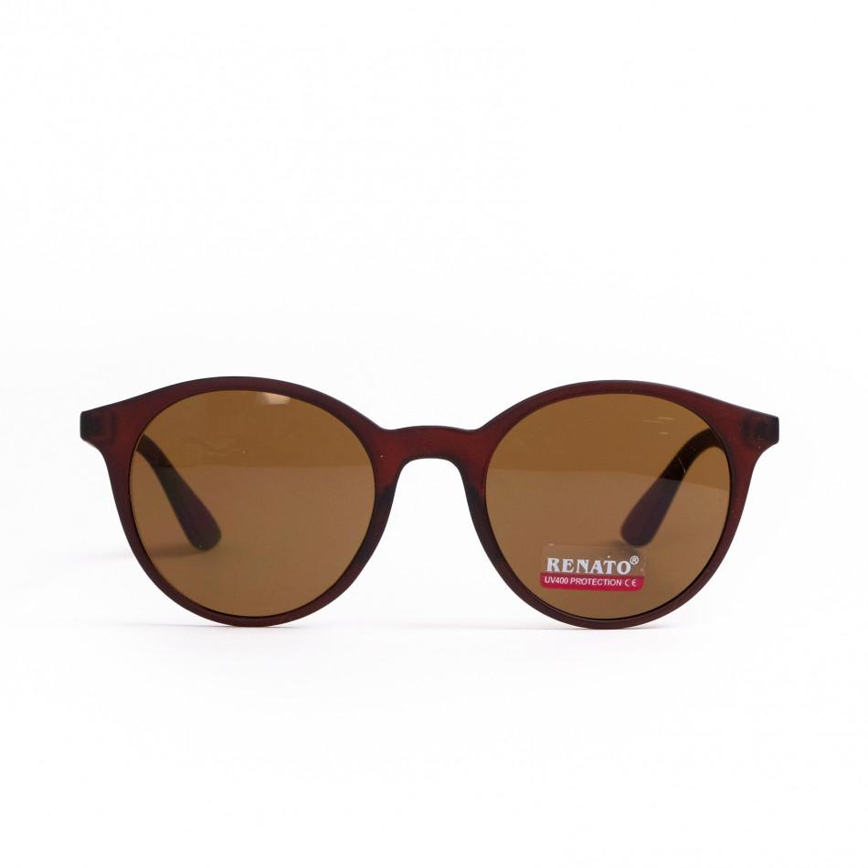 Ανδρικά καφέ γυαλιά ηλίου Renato il200521-9