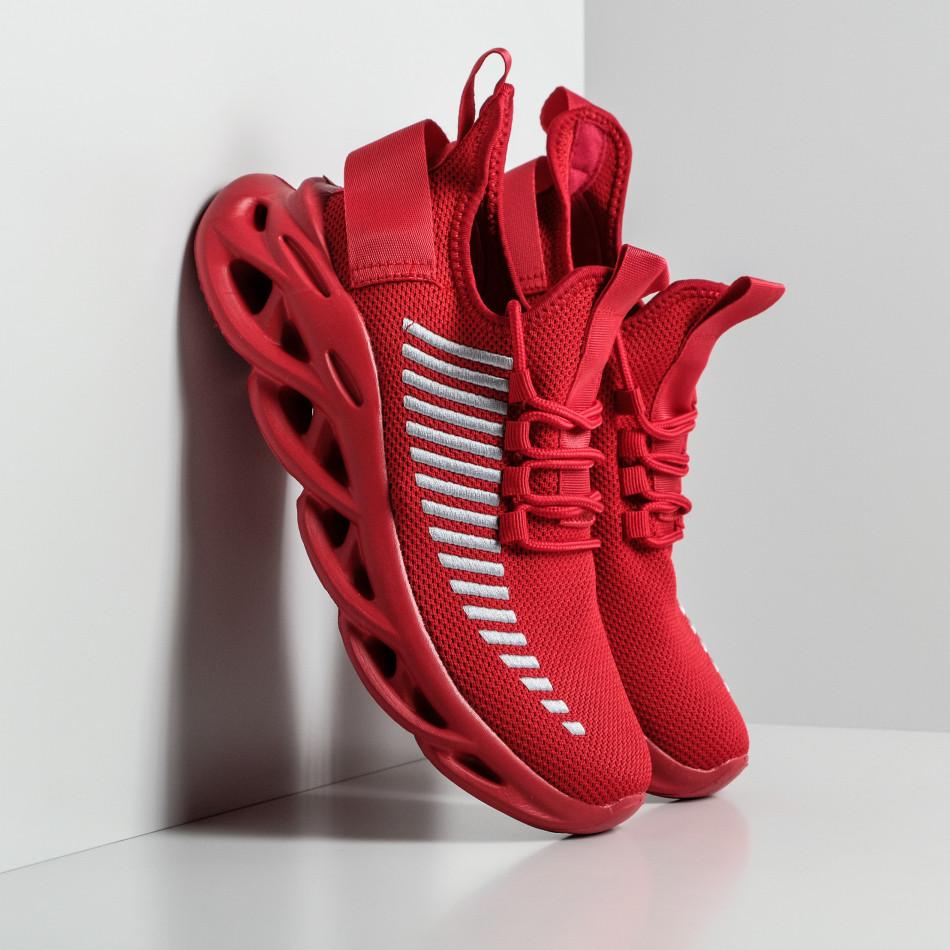 Ανδρικά κόκκινα αθλητικά παπούτσια Rogue it270320-21
