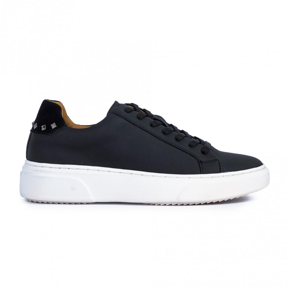 Ανδρικά μαύρα sneakers it300920-56