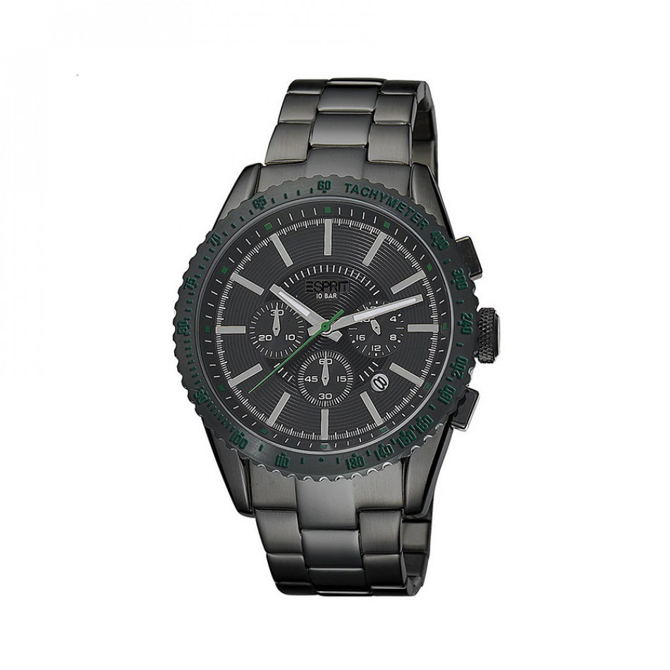 Ανδρικό ρολόι Esprit Quartz Chronograph PVD Black ES104031007 es104031007