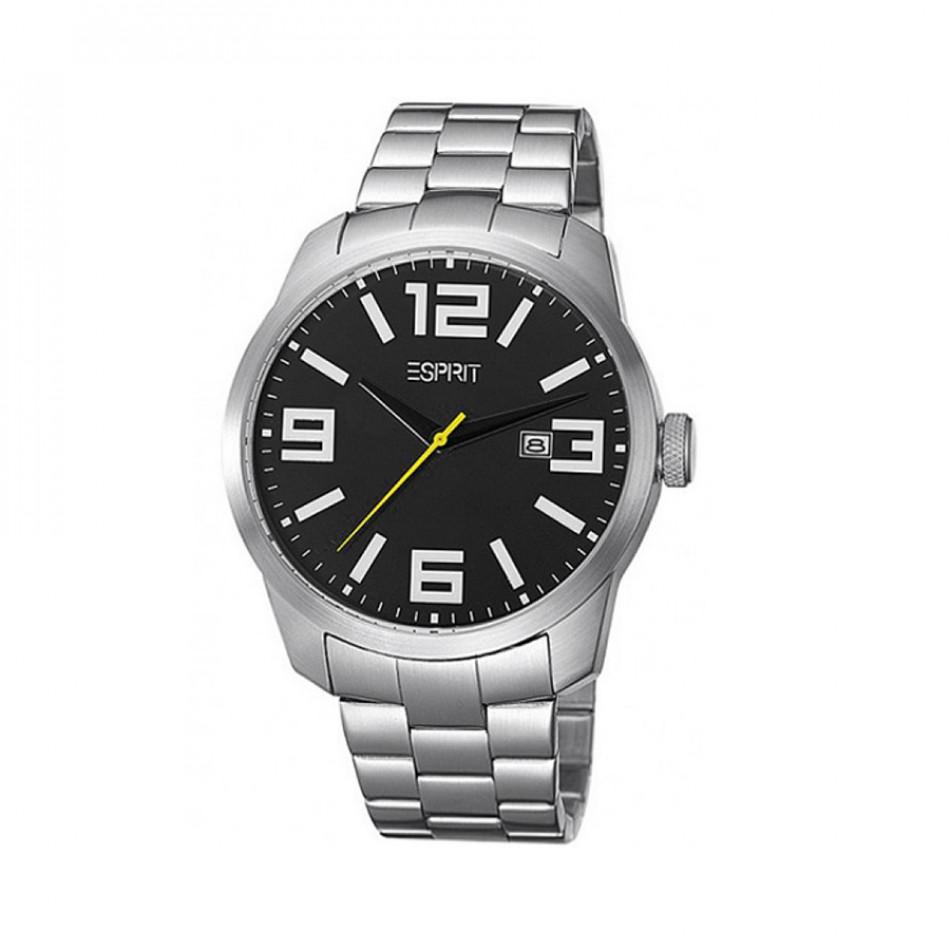 Ανδρικό ρολόι Esprit Quartz Black Dial ES103842005 es103842005