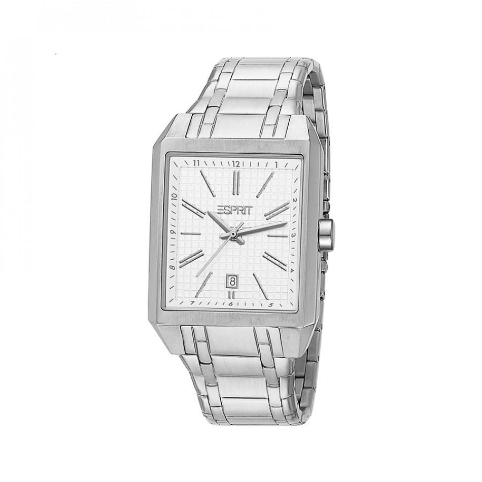 Ανδρικό ρολόι Esprit Steel White Dial Quartz  ES104071004  ES104071004