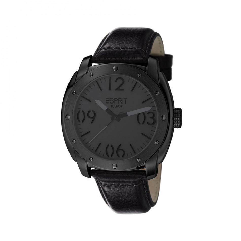Ανδρικό ρολόι Esprit Black Dial PVD Black  ES106381004