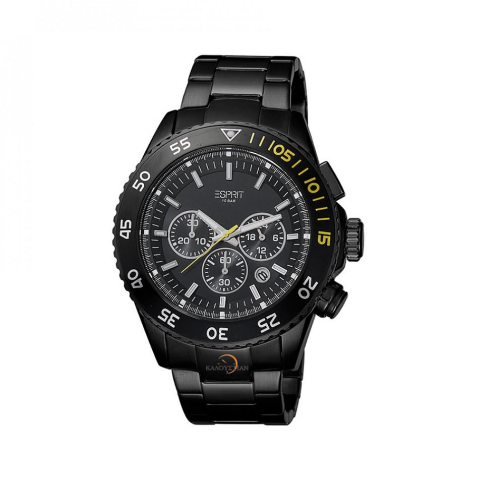 Ανδρικό ρολόι Esprit ES PVD BLACK Quartz Chronograph  es103621006