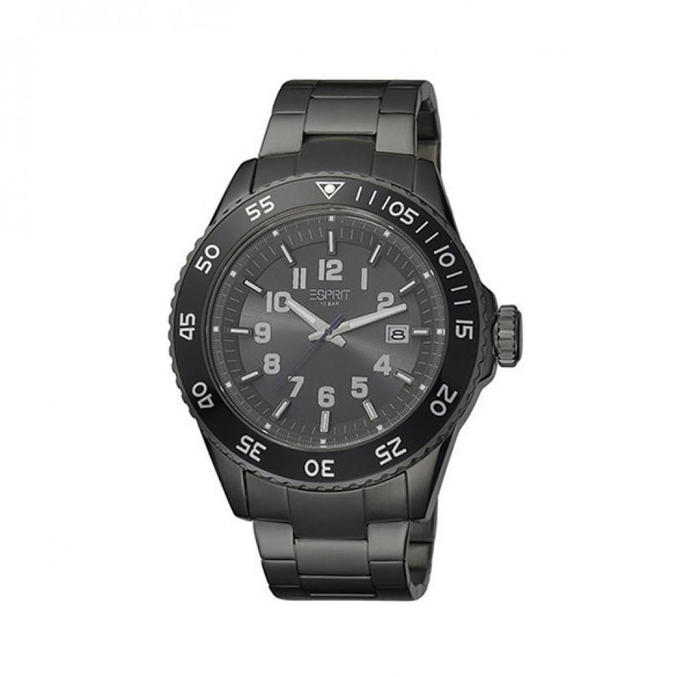 Ανδρικό ρολόι Esprit Quartz Chronograph PVD Black ES103631007 es103631007