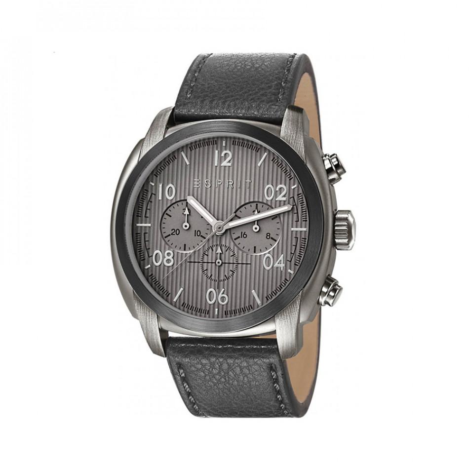 Ανδρικό ρολόι Esprit Grey Dial PVD Black  ES107551003