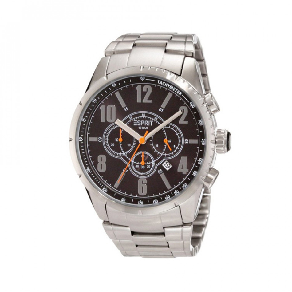 Ανδρικό ρολόι Esprit Quartz Chronograph Steel Black Dial  ES104221005