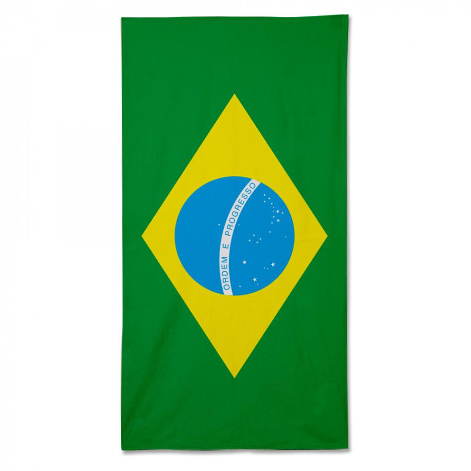 Ανδρικό πράσινο πετσέτα θαλάσσης Fashionmix fm090714-3