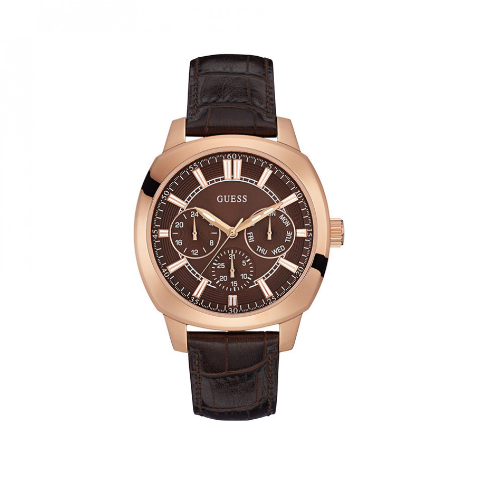 Ανδρικό ρολόι Guess Rose Gold Plated Prime W0660G1 W0660G1