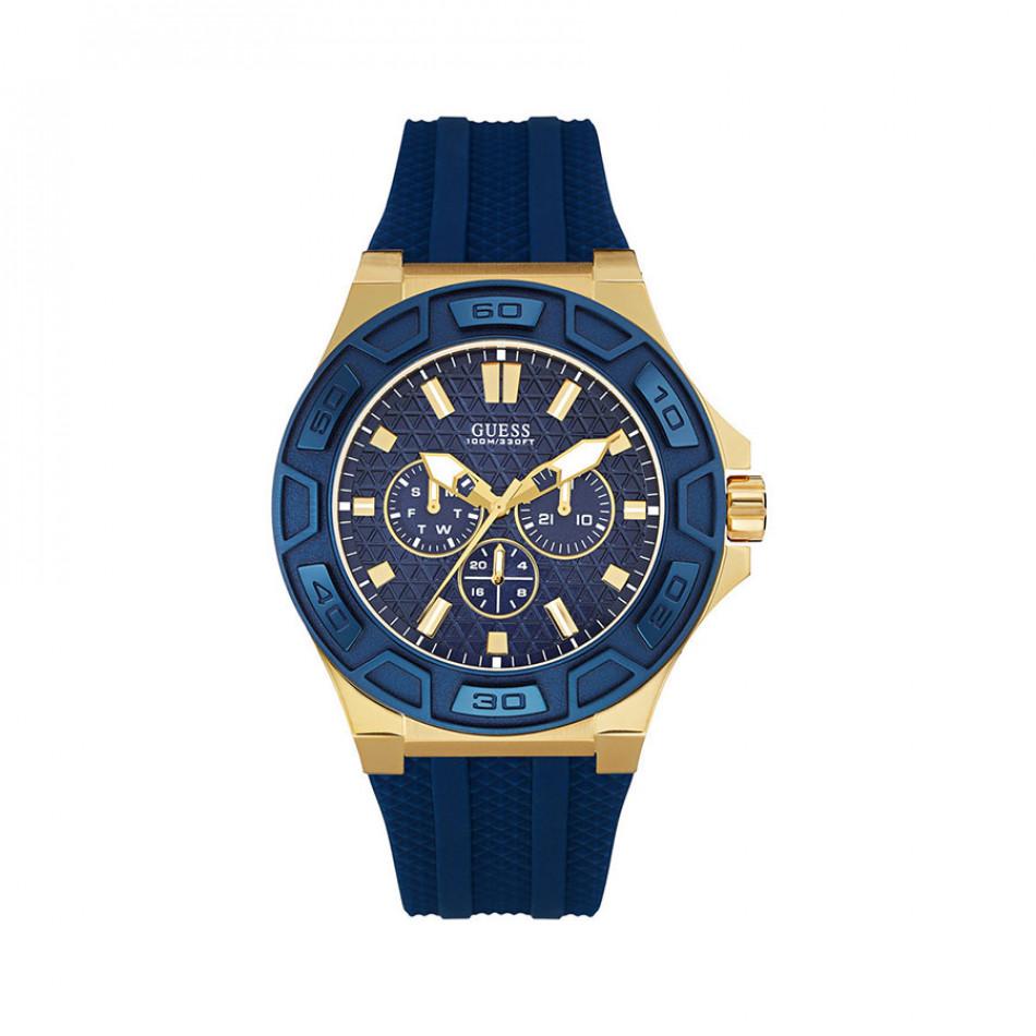 Ανδρικό ρολόι Guess Indigo Illusion Gold Plated W0674G2 W0674G2