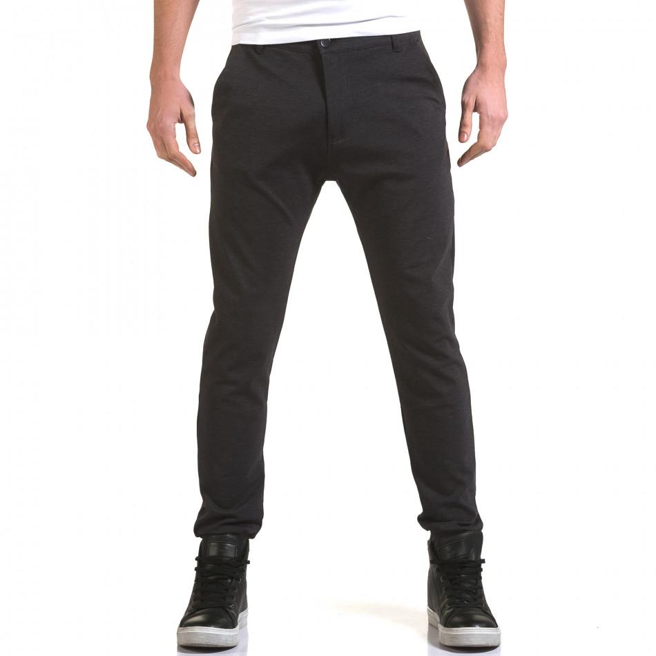 Ανδρικό γαλάζιο παντελόνι Jack Berry it090216-27