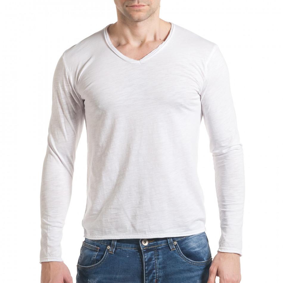 Ανδρική λευκή μπλούζα Y-Two it030217-21