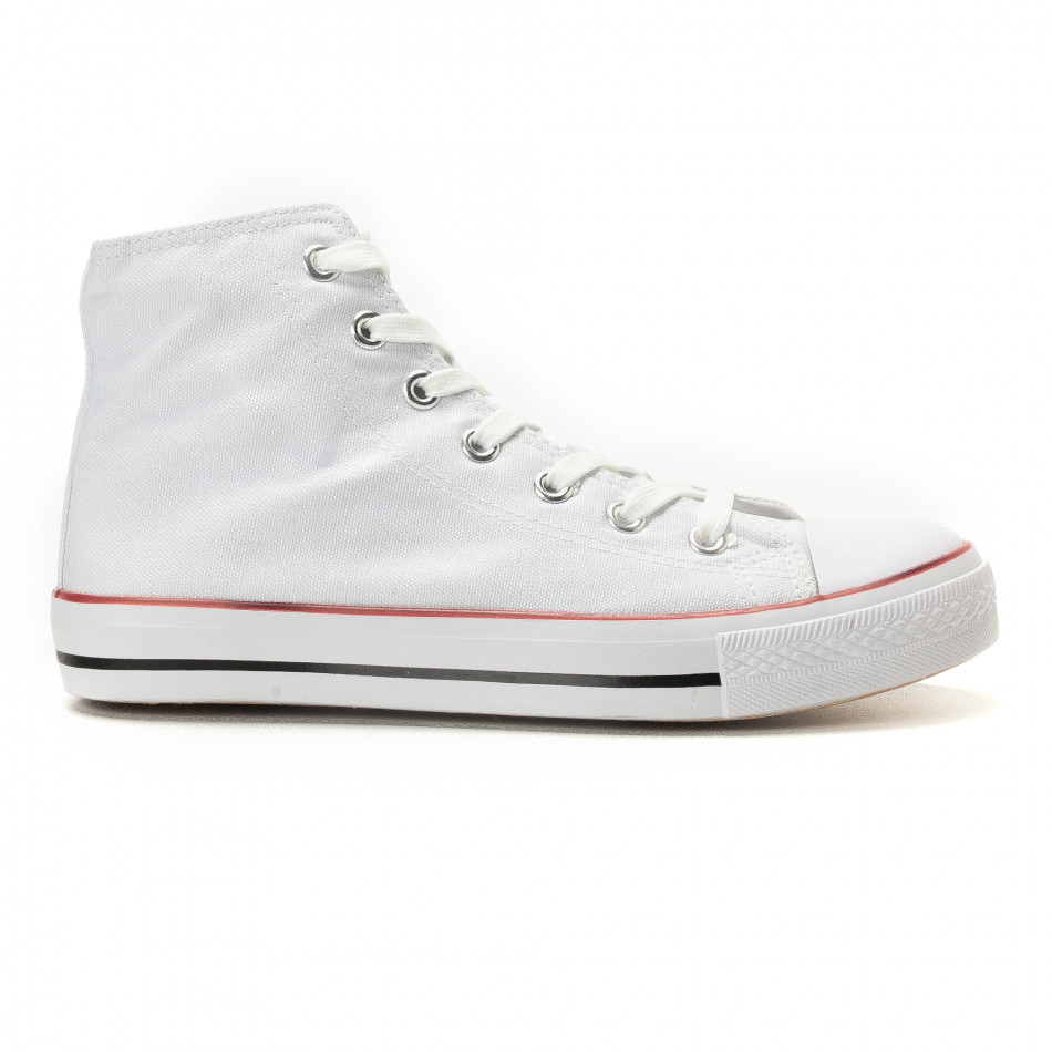 Ανδρικά λευκά sneakers Bella Comoda it260117-44