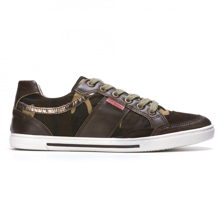 Ανδρικά πράσινα sneakers Staka It050216-14